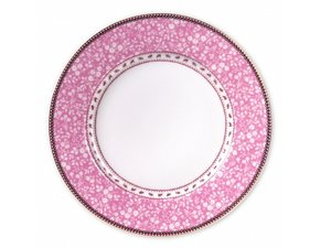 Pip Studio Plate Early Bird Lovely Branches Pink 26.5 cm