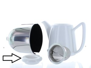 Cosy Manto Teapot White Large Replacement Lid