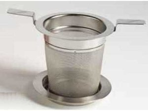 Stainless Steel Filter with 2 handles and lid 5,9 cm diameter