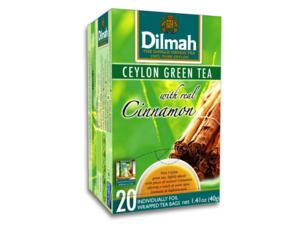 Dilmah Green Tea Cinnamon 20 Teabags (40 grams)