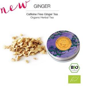 Yeh Tea Ginger - Tin 40 gram NL-BIO-01