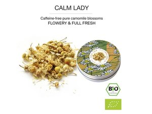Yeh Tea Calm Lady - Tin 15 gram NL-BIO-01