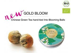Yeh Tea Gold Blooms - Tin with 7 balls (50 gram)