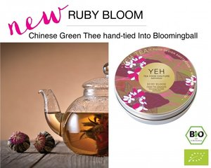 Yeh Tea Ruby Blooms - Tin with 7 balls (50 grams)