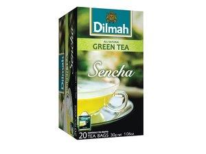 Dilmah Green Tea Sencha 20 Teabags (30 grams)