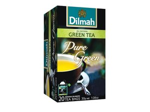 Dilmah Green Tea Natural 20 Teabags (30 grams)