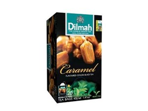 Dilmah Caramel Tea  20 Teabags (40 grams)