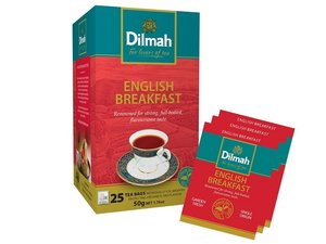 Dilmah English Breakfast Tea 25 Teabags (50 grams)