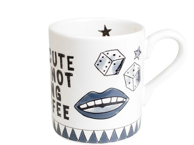BLond X Noir Mug You're Cute