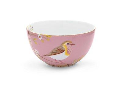 Pip Studio Bowl Early Bird Rosa 15 cm