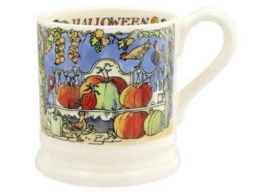 Emma Bridgewater 1/2 Pt. Mug Halloween Litho