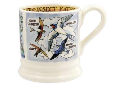 Emma Bridgewater 1/2 Pt. Mug Kingfisher & Insect Eaters