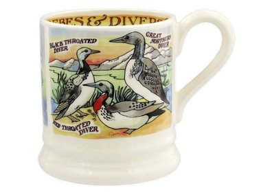 Emma Bridgewater 1/2 Pt. Mug Divers & Grebes