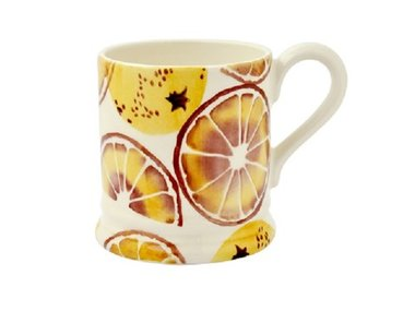 Emma Bridgewater 1/2 Pt. Mug Oranges