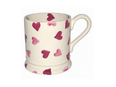 Emma Bridgewater 1/2 Pt. Mug Pink Hearts