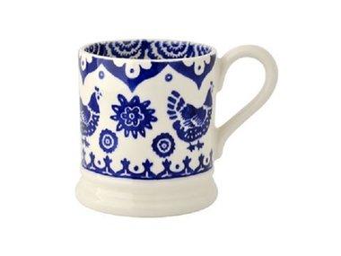 Emma Bridgewater 1/2 Pt. Mug Blue Hen
