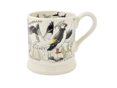 Emma Bridgewater 1/2 Pt. Mug Sea Birds