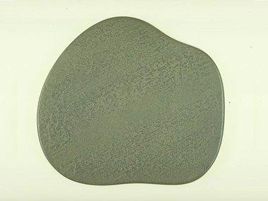 Cast Iron Tray 13x15 cm Ukigomo Walnut