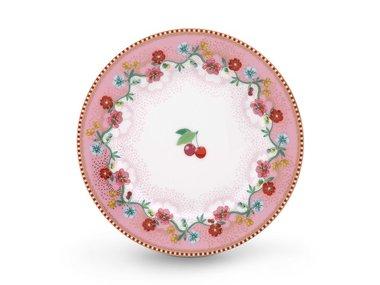 Pip Studio Cakeplate Cherry Pink 17 cm