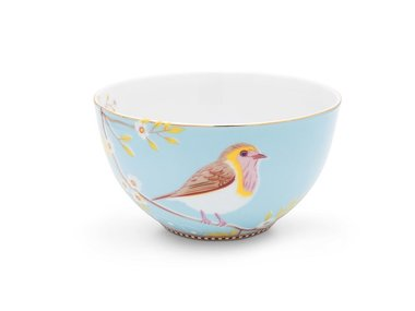 Pip Studio Bowl Early Bird Blue 15 cm