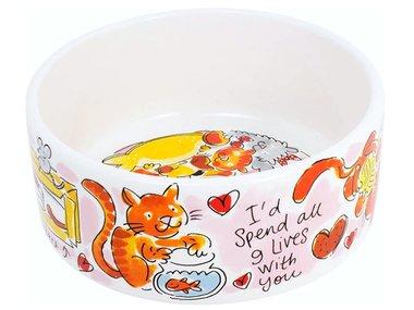 Blond Amsterdam Animals Cat Bowl 15,5 cm