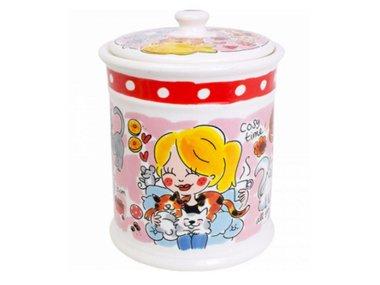 Blond Amsterdam Animals Storage Jar Cat