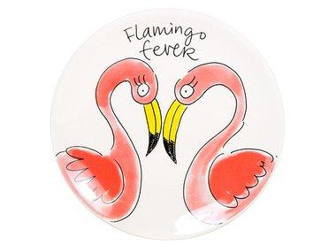 Blond Amsterdam Plate Paradise Flamingo 18 CM