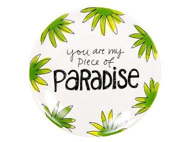 Blond Amsterdam Plate Paradise 18 CM
