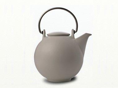 Eslau Bornholm beige / matt white 2,6 liter teapot