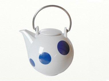 Eslau Bornholm blue Polkadot 2,6 liter teapot