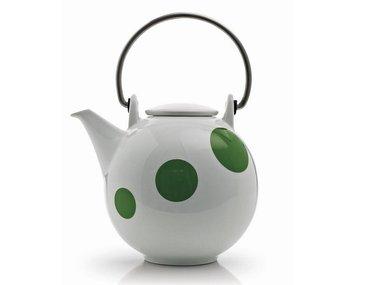 Eslau Bornholm green Polkadot 1,4 liter teapot