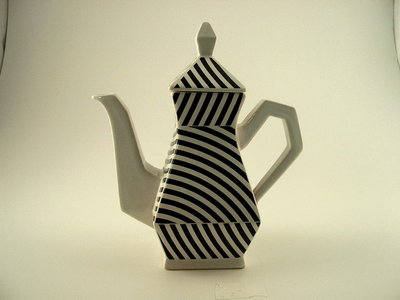 Art4 Striped Teapot