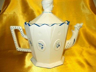 Faience Josephine Teapot