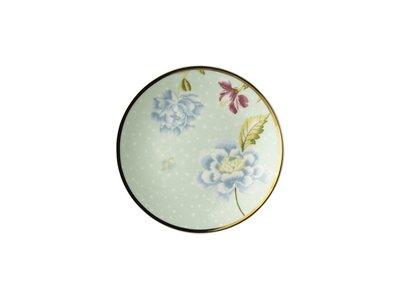 Laura Ashley - Petit Four Plate 12 cm Mint Uni