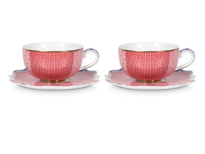 Pip Studio Royal Espresso cup and saucer Set of 2