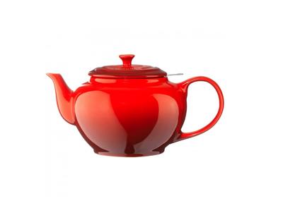 Le Creuset Teekanne 1,3 Liter Kirschrot