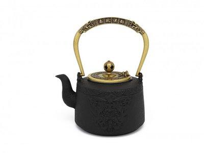 Cast Iron Teapot 1,20 Ltr: Emperor