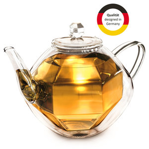 Creano Teapot Doublewalled Diamond 0,80 Liter